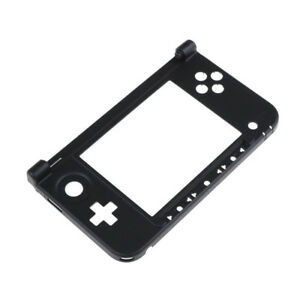 Nintendo-3DS-XL-Replacement-Hinge-Part-Black-Bottom-Middle-Shell-Housing-In-BF