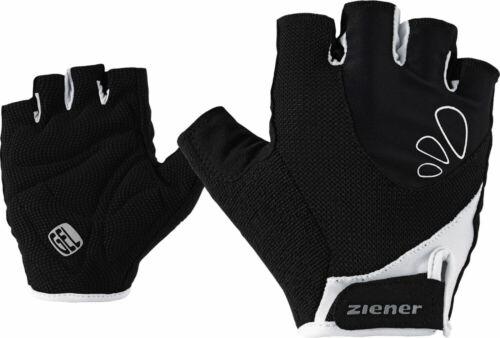 Ziener femmes-roue-Bike-Gants Capela Lady Bike Glove Noir Blanc