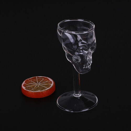Bones Armor Warrior Skull Design High Wine Glass Goblet Cup Drinkware STDE  ZJP