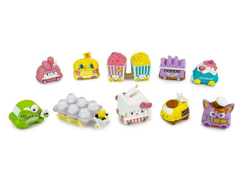 Kidrobot Hello Sanrio Micro Vehicle Serie 10pcs Completed Set Worldwide Free S H