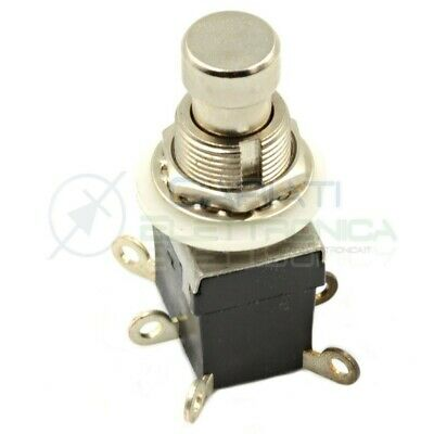 6Pins DPDT Momentary Stomp Foot Switch for Guitar AC 250V//2A 125V//4A H3J5