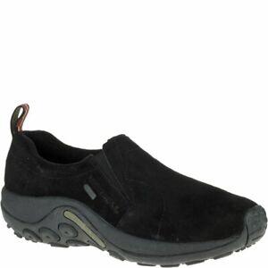 Merrell-Men-039-s-Shoe-Jungle-Moc-Waterproof-Slip-On-Waterproof-Air-Cushion-Heel