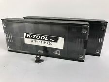 K Tool Dti 1511p New Carbide Inserts Grade X20 12pcs
