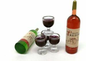 1Set-Dollhouse-Miniature-Wine-Bottle-Drink-Cups-Doll-Scene-DIY-House-Kids-Toys