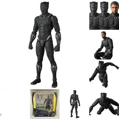Black Panther 16cm MAFEX No.091 PVC Action Figure Toy Gift New In Box