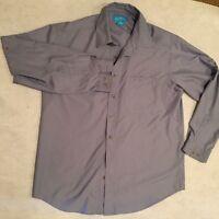 Sunday Afternoons Men's Sun shirt UPF 40 golf hiking fishing blue travel Medium