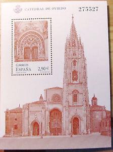 ESPANA-SELLO-HOJA-BLOQUE-CATEDRAL-DE-OVIEDO-275527-ANO-2012-NUEVO