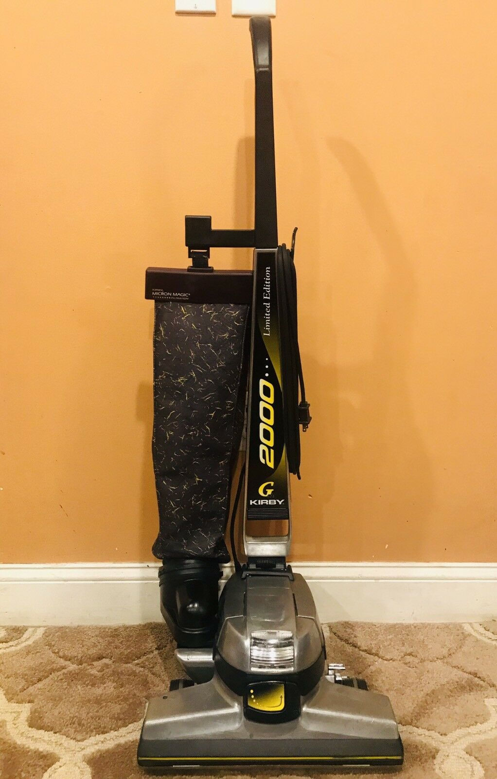 Kirby G6 Limited Edition Bagged Upright Vacuum Cleaner