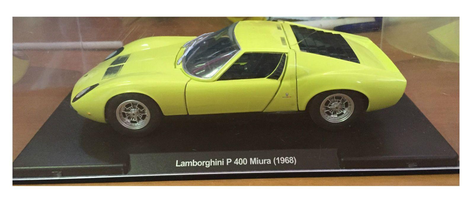 Lamborghini P 400 Miura 1968 1 24 scale