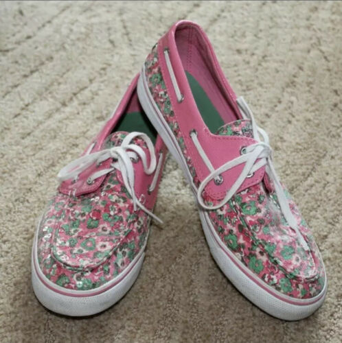 Women's Sperry Flower Boat Shoes