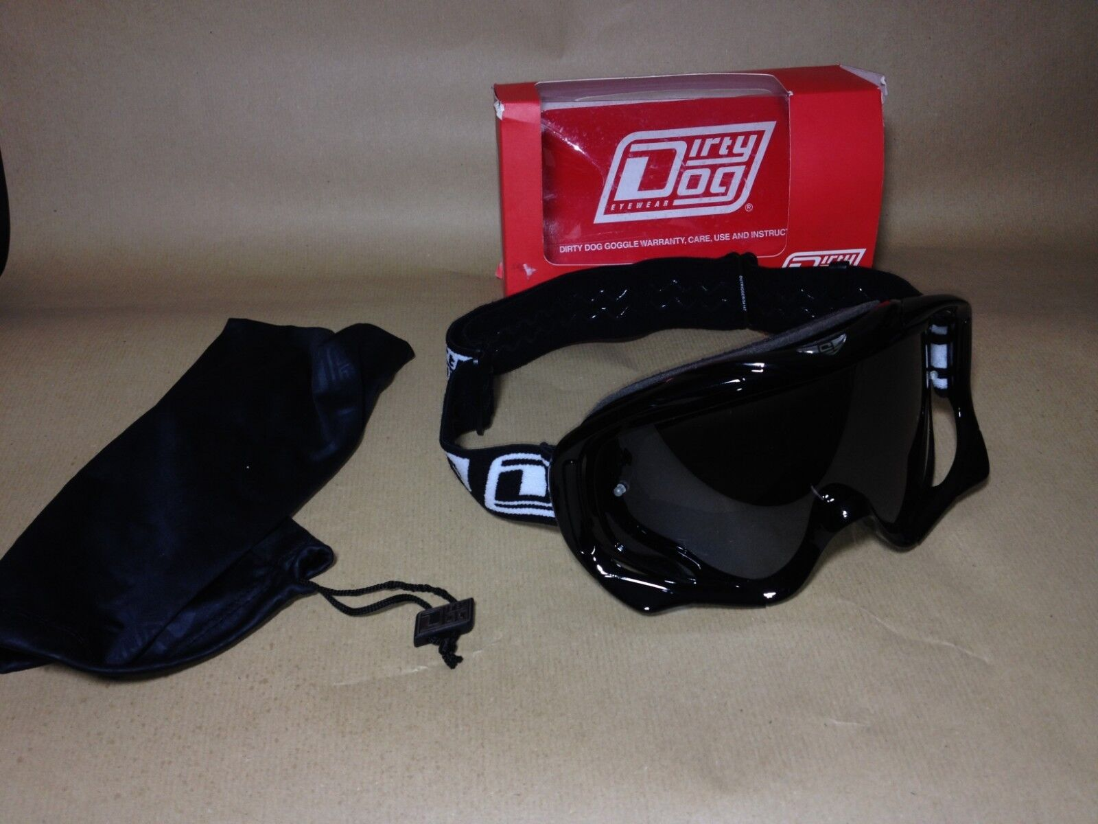 Dirty Dog Outrigger MX Goggles - snow   Off-Road Motocross Motorcycle