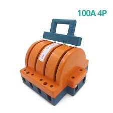 Heavy Duty 100a Four Poles Double Throw Knife Disconnect Switch