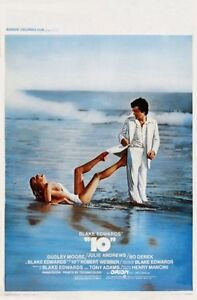 10 Movie Poster #01 Bo Derek 11x17 Mini Poster 28cm x43cm