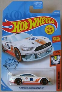 2019 Hot Wheels MUSCLE MANIA 3//10 Custom /'18 Ford Mustang  GT 180//250