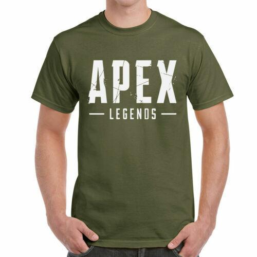 Legends-Battle Royale-Gaming Apex Block-T-Shirt Homme PC
