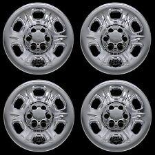 "4 CHROME 2005-2016 Nissan Frontier 15"" Wheel Skins Hub Caps Covers Simulators"