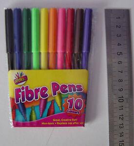 Felt tips (3, 6 24 or 30 packs of 10), Colouring fibre pens, felt tip pens, NEW