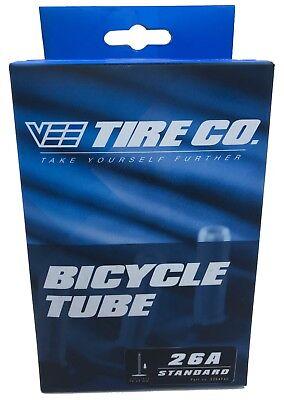 "Sunlite Bicycle 2-PACK Inner Tubes 26x3.50/"" Presta 28mm Valve Mountain Fat Bike"