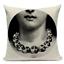 thumbnail 18 - Fornasetti Style Pillow Case Cover Sofa Home Textile Vintage Cushion Linen Decor