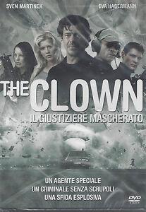 Dvd **THE CLOWN - IL GIUSTIZIERE MASCHERATO** con Sven Martinek nuovo 2005