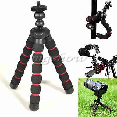Portable Mini Flexible Tripod Stand Mount Holder For GoPro Hero 2 3 3+ 4 5Camera