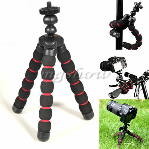 Portable Mini Flexible Tripod Stand Mount Holder For GoPro Hero 2 3 3+ 4 5Camera