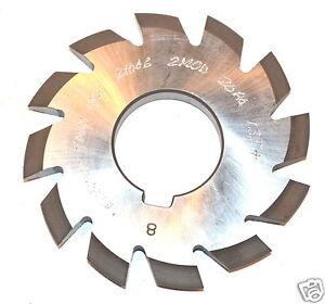 """NOS Decovich CANADA 2-3//4/"""" Dia HSS Involute Gear Cutter 10 DP 14.5 PA #8 12-13T"""