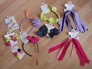 NWT-GIRLS-GYMBOREE-HAIR-CLIPS-HEADBAND-PONYTAIL-HOLDER-BRIGHT-IDEAS-U-PICK