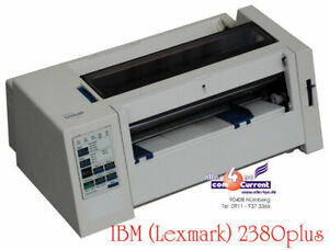 Small Dot Printer dot-Matrix Printer Lexmark 2380 Tape New For Windows 95 98
