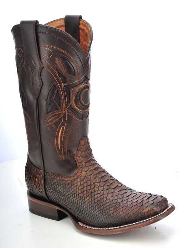 Rodeo Python Western boots made by Cuadra boots
