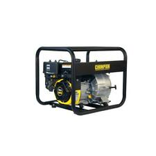 3 In Water Transfer Pump Switchless Semi Trash Gas Powered Durable Steel Frame
