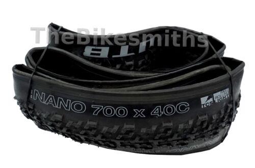 1 or 2-Pack WTB Nano TCS Light 700 x 40c Bicycle Tire Lightweight Cyclocross