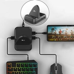 Details about NEX Gamepad Keyboard Mouse Converter Adapter Dock PUBG Mobile  for Android System