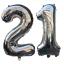 21st-Helium-Foil-Birthday-Anniversary-Balloon-32-034-Or-40-034 thumbnail 1