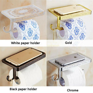 Multicolor-Toilet-Roll-Paper-Rack-With-Phone-Shelf-amp-Hook-Lavatory-Paper-Holder