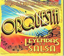 Orquesta Leyendas de La Salsa Homenaje a Aquellos Grandes BRAND NEW SEALED   CD