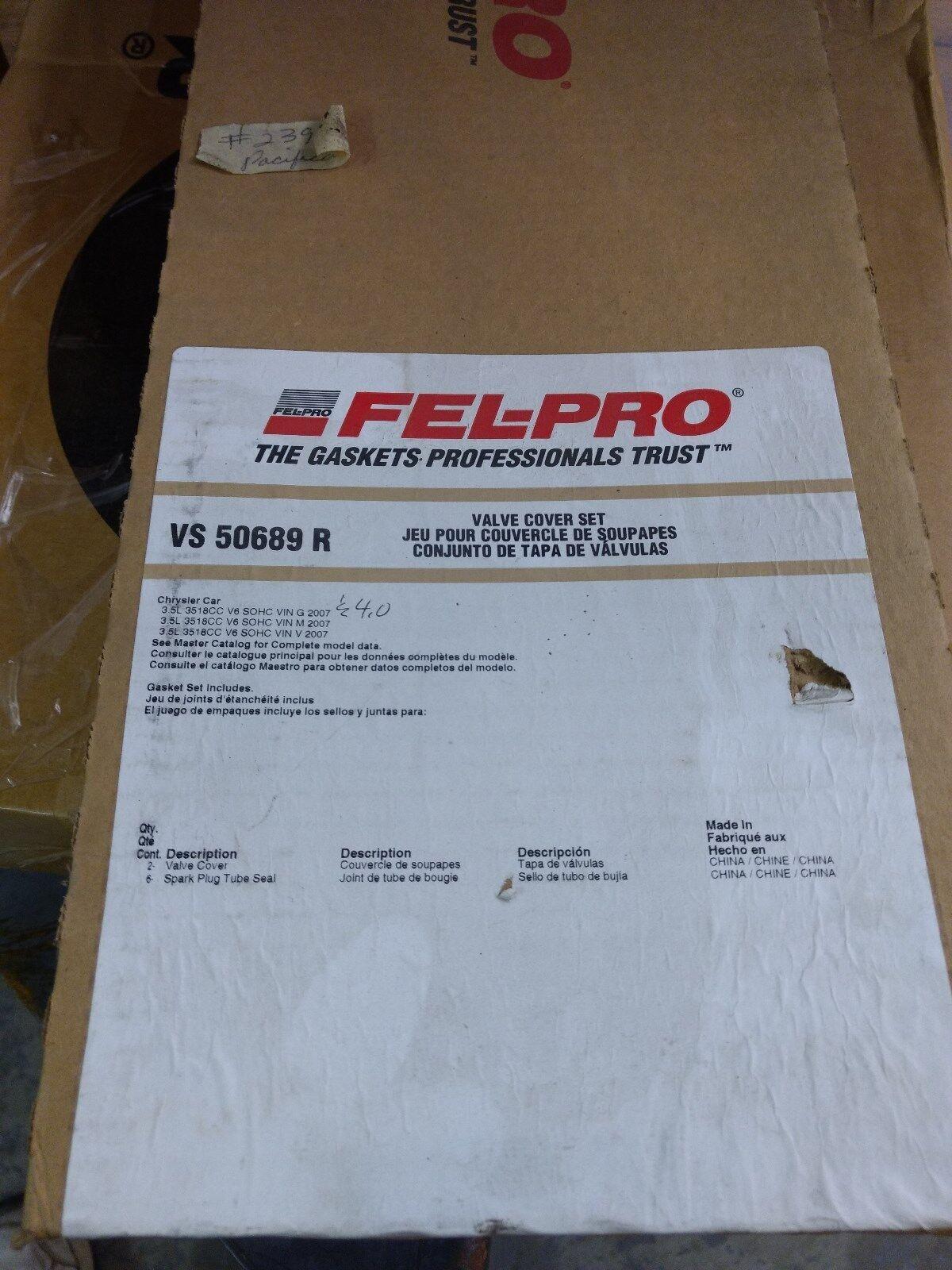 Engine Valve Cover Gasket Set Fel-Pro VS 50689 R