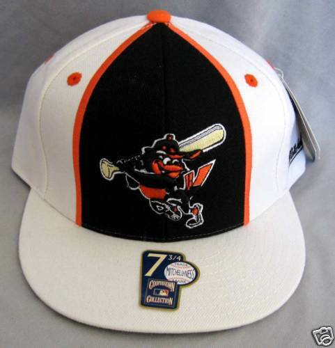 NEW MITCHELL & NESS Baltimore Orioles CAP hip hop 7 3/4