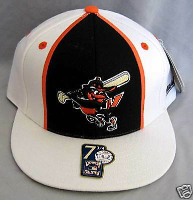 Sport Baseball & Softball New Mitchell&ness Baltimore Orioles Cap Hip Hop 7 3/4 Chinesische Aromen Besitzen