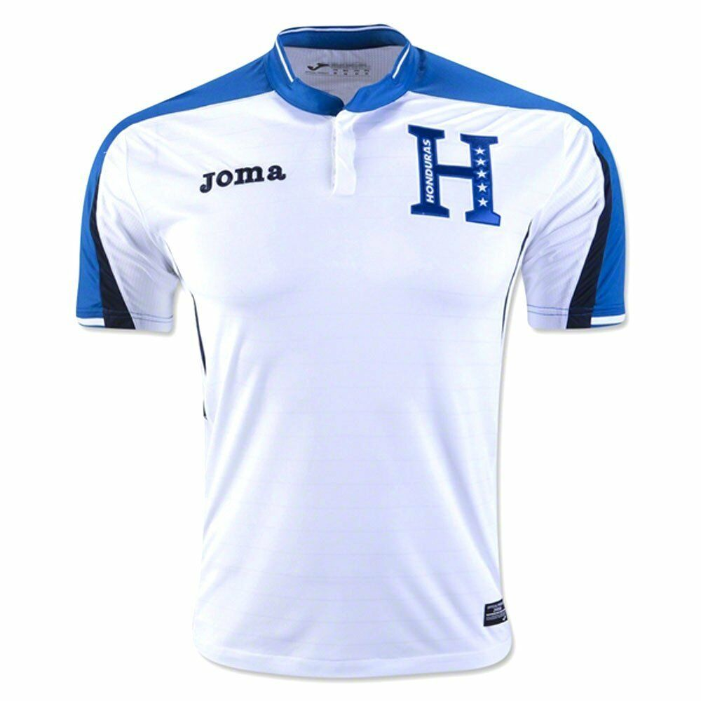 Honduras Authentic 2017 Home Soccer Jersey Joma