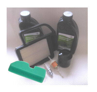 Kohler Motoröl /& Zündkerze Husqvarna Lt151 Rasenmäher Filter Service