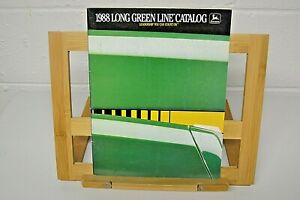 John Deere Agricultural Equipment Long Green Line Buyers Guide for 1986