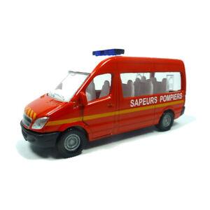 "blister Bescheiden Siku 0808 Mercedes Benz Sprinter ""sapeurs Pompiers"" Rot ° Warmes Lob Von Kunden Zu Gewinnen Neu"