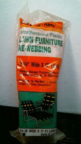 Light Orange Frost King PW17SE Weather-Proof Lawn Furniture Re-Webbing FS