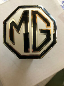 MG Grille & Spare Wheel Badge for MGA & MG TF, MG part ARH900