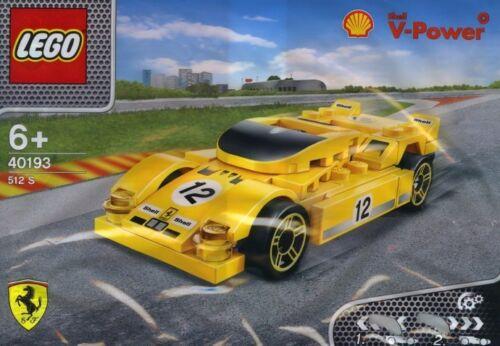 LEGO Ferrari Shell 40193 V-Power Ferrari 512 S mit Rückziehmotor