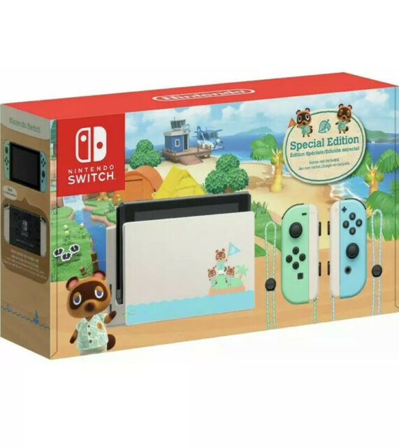 Nintendo Switch Animal Crossing New Horizons Console SPECIAL Edition 2DAY SHIP