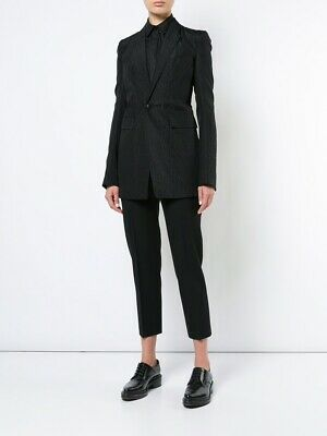 Clothing, Shoes & Accessories At Any Cost Painstaking Rick Owens..italy..dirt S/s 2018..faun Blazer...textured Wool&silk Women's Clothing