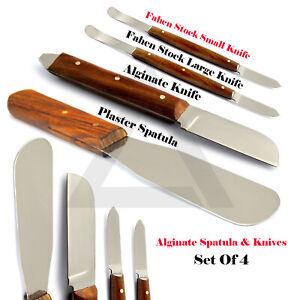 Alginate-Plaster-Spatula-Fahen-Stock-Wax-Knives-Laboratory-Instruments-4-Pcs