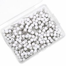 500 Pack Map Push Pins Map Tacks Small Size White 18 Inch